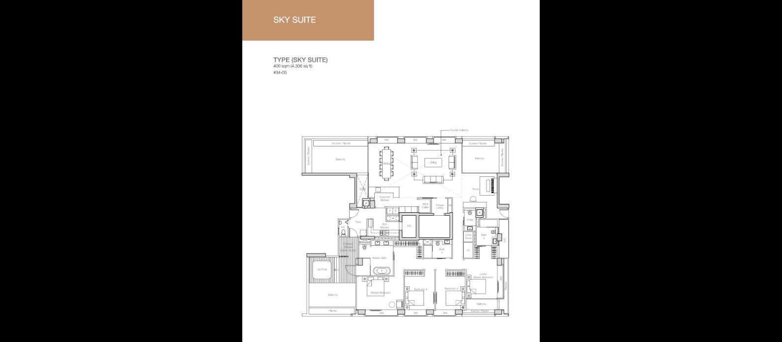Nouvel 18 floor plan